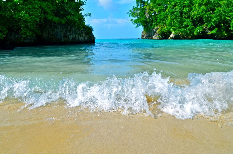 Giamaica le spiagge, Frenchman's Cove