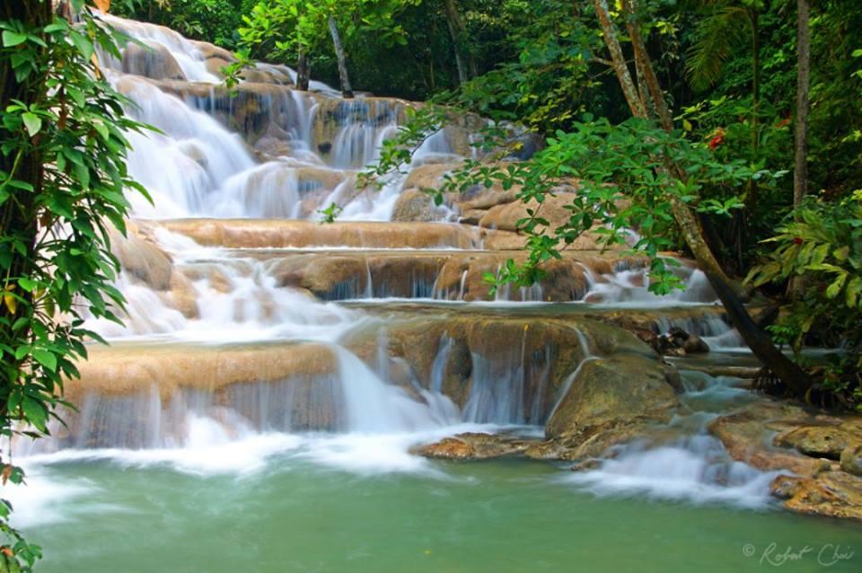 Giamaica le cascate, Dunn's River Falls