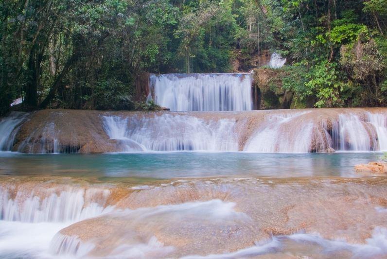 Giamaica le cascate, YS Falls