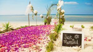 Matrimonio all'estero, sposarsi sulla spiaggia