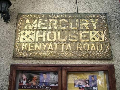 Zanzibar, Stone Town, Mercury House