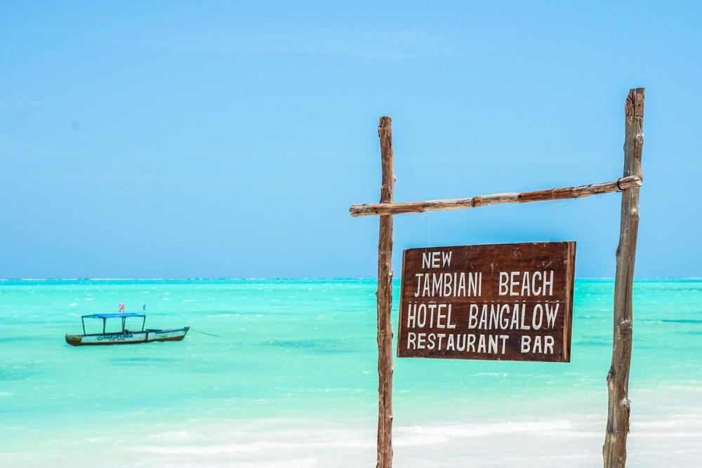 Zanzibar, spiagge, Jambiani beach