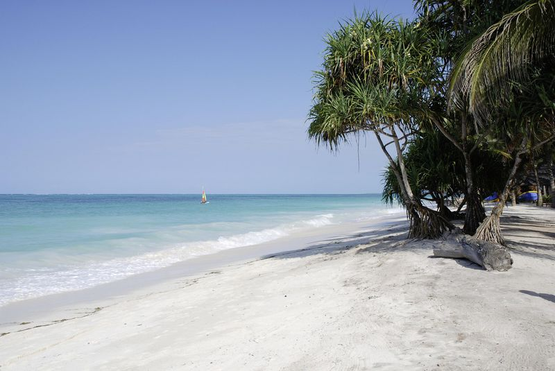 Zanzibar, le spiagge, Kiwenga beach
