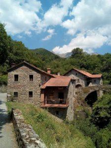 Castello di Comano, incantevole scorcio della località Castello