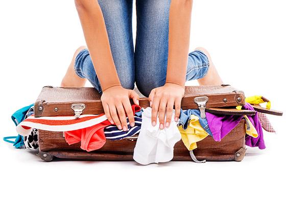 Preparare la valigia perfetta