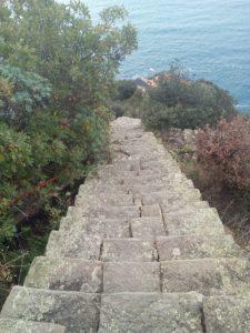 Monesteroli, scalinata