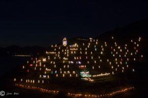 Presepe Luminoso di Mnarola, foto ©Gianni Bedini