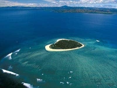 luoghi a forma di cuore, Tavarua, Fijj