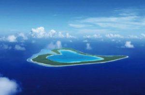luoghi a forma di cuore, Polinesia