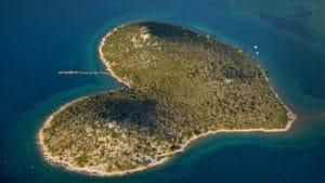 luoghi a forma di cuore, Croazia