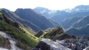 Carrara, i monti