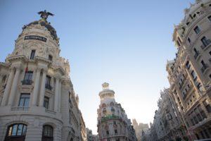 Madrid, palazzi sulla Gran Via