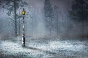poesia sulla neve, Di neve e di addio