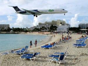Le spiagge più strane del mondo, Maho Beach
