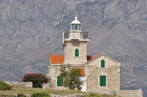 Le isole più belle della Croazia, un faro sull'isola di Brac