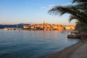le più belle spiagge della Croazia, isola di Korkula