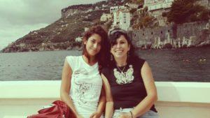 Costiera Amalfitana, me e Nadine
