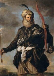 Pirata Musetto, raffigurazione di un pirata saraceno