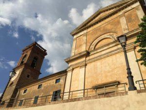 Lorenzana, Chiesa