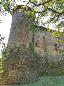 Castello di Monti di Licciana, una delle torri