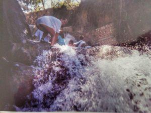 Giamaica, risalita delle Dunn River Falls