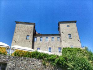 Castello di Pontebosio, vista lato est