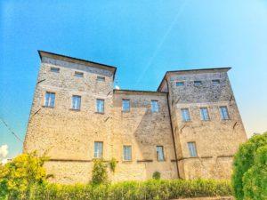 Castello di Pontebosio, lato sud