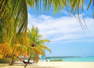 Giamaica, scorcio di una spiaggia