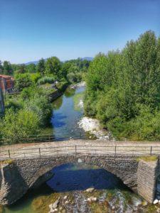Castello di Pontebosio, l antico ponte sul torrente Taverone