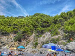 Punta Corvo, la spiaggia