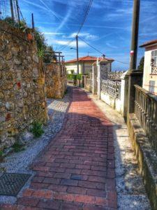 Punta Corvo, l'inizio della camminata a Montemarcello