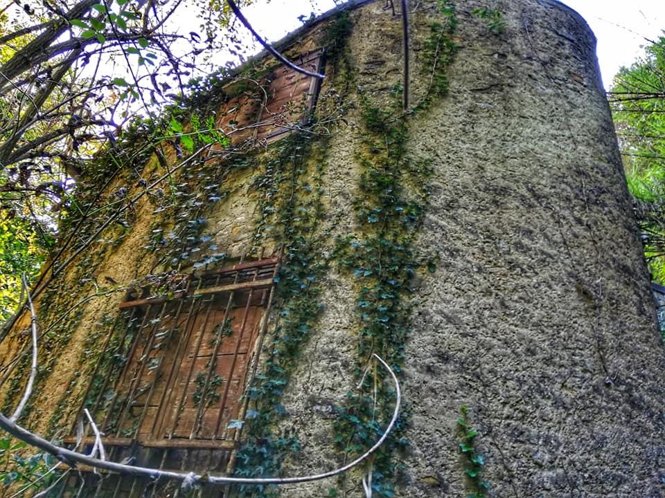 Cascata del Traaton, il Mulino abbandonato