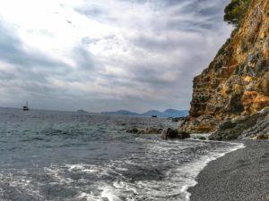 Punta Corvo, scorcio spiaggia