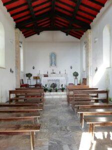 Monte Pasquilio, interno chiesa Madonnina del Pasquilio