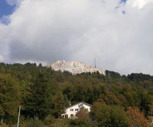 Monte Pasquilio, vista sul Monte Carchio