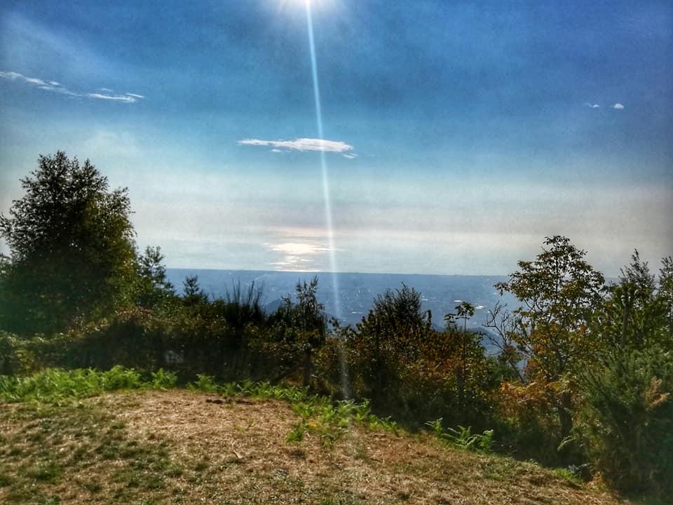 Vista dal Monte Pasquilio, Alpi Apuane