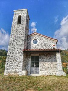 Monte Pasquilio, chiesa Madonnina del Pasquilio