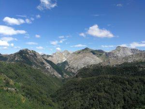 Parco regionale delle ALpi Apuane, scorcio dal Passo croce