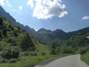 Parco regionale Alpi Apuane, scorcio Val serenaia