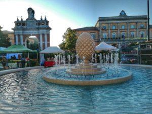 Santarcangelo di Romagna,Piazza Ganganelli