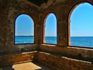 Le più belle località costiere della Croazia, Porec o Parenzo, scorcio