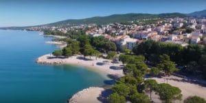 Le più belle località costiere della Xroazia, Crikvenica