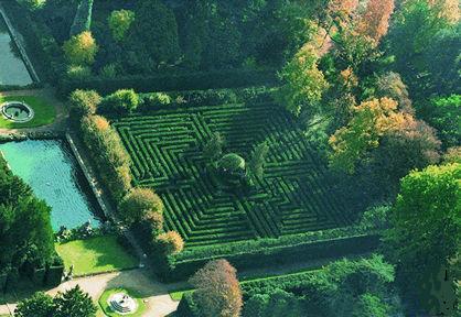 Labirinti, labirinto di Villa Barbarigo