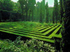 Labirinti in Italia, labirinto Villa Giusti