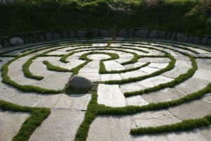 Labirinti, labirinto a spirale di Kraenzelhof.