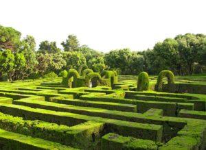 Labirinti, labirinto Castello di Masino
