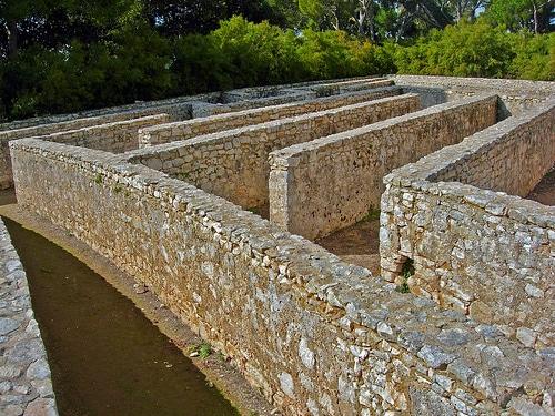 Labirinti in Italia, labirinto del Castello di Donnafugata