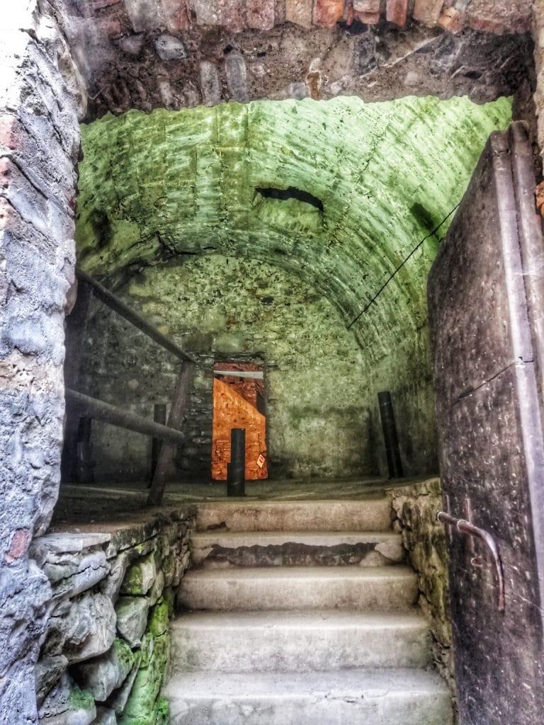 Castello di Bardi, la ghiacciaia