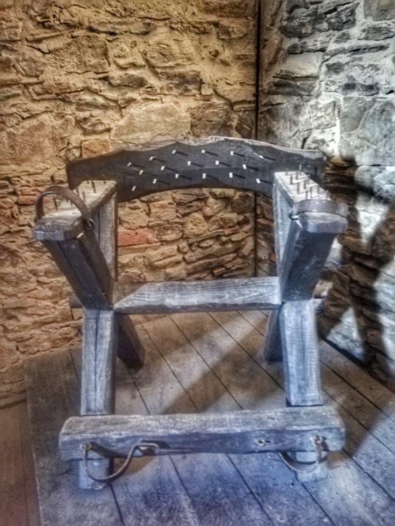 Castello di Bardi, sala delle torture