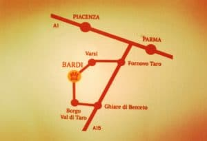 Castello d Bardi, come arrivare